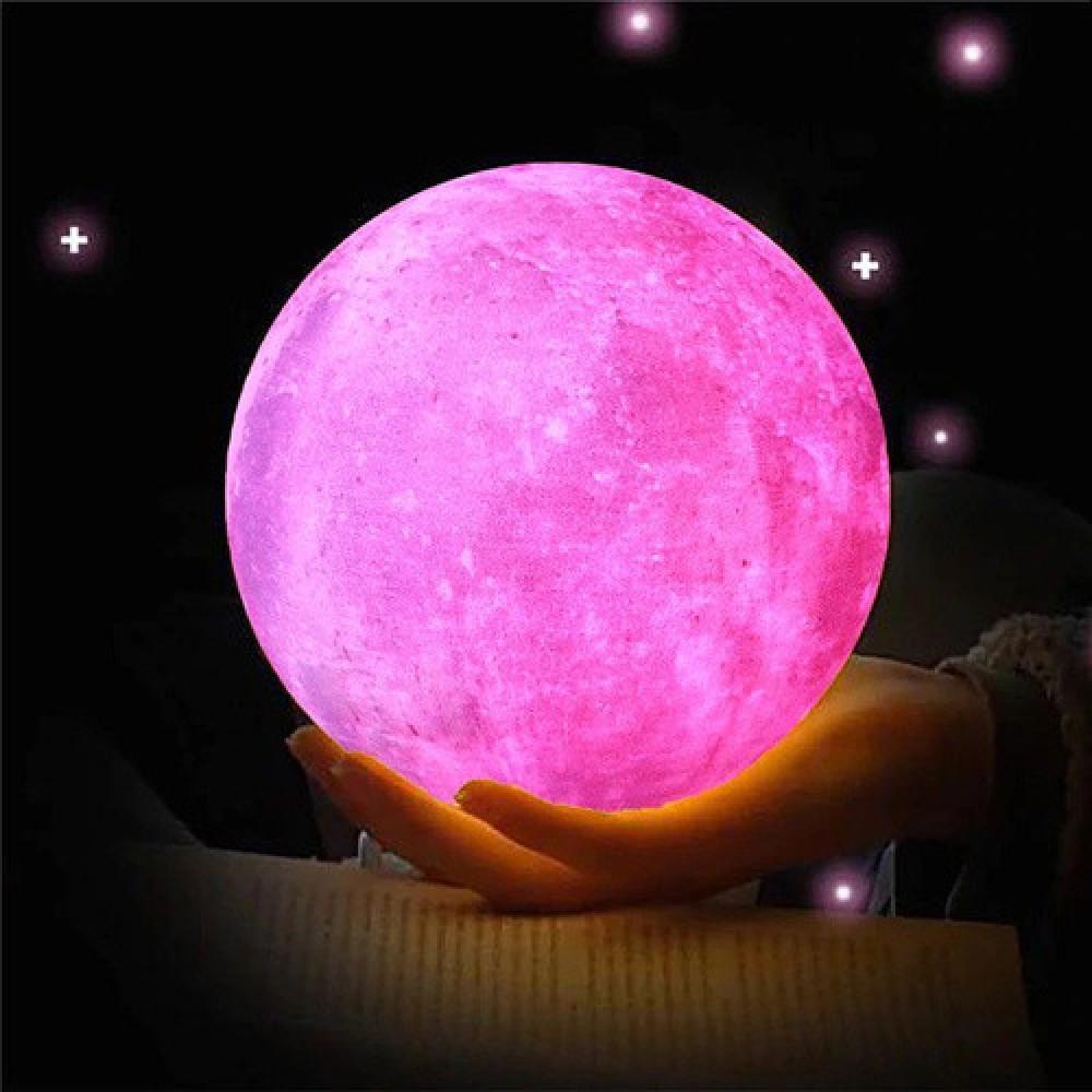 Настольный светильник луна 3D Moon Lamp