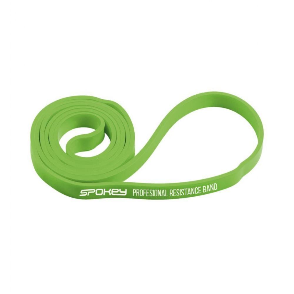 Тренажер-эспандер ленточный Spokey Power II, 920955, зеленый