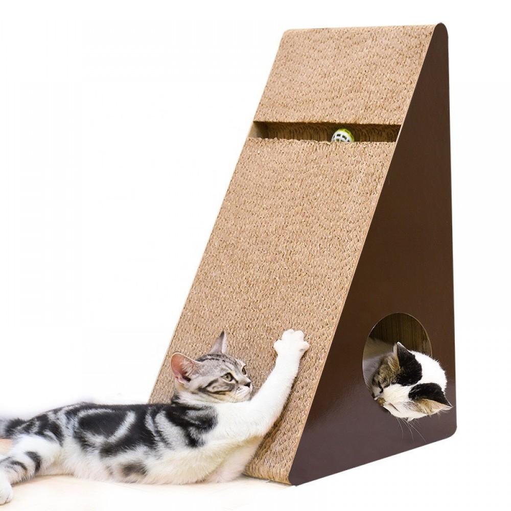Когтеточка, дряпка - лежанка из картона для кошек Avko ACS016L