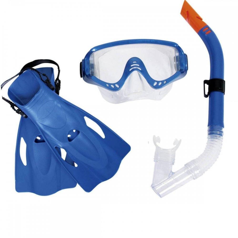 Набор для плавания Bestway 25020 размер L, синий