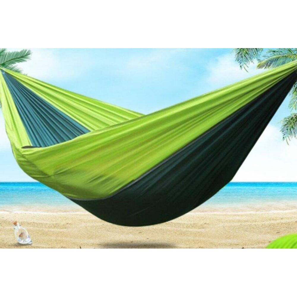 Туристический гамак Travel hammock зеленый