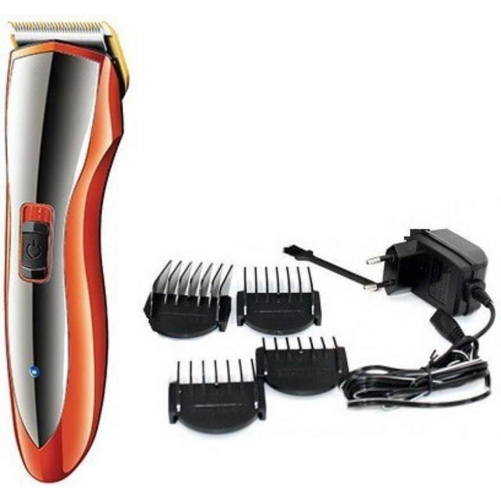 Профессиональная машинка триммер для стрижки волос Gemei GM-6027 с насадками