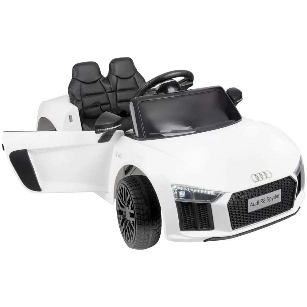 Детский электромобиль AUDI HL-1818 белый