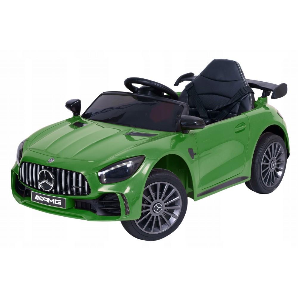 Детский электромобиль Mercedes BBH-011 зеленый (колеса EVA)