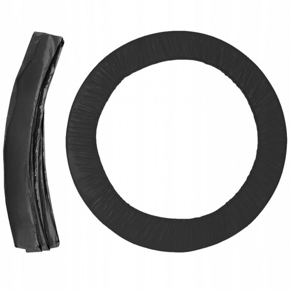 Защита на пружины для батута 252 см, 8 футов, черный