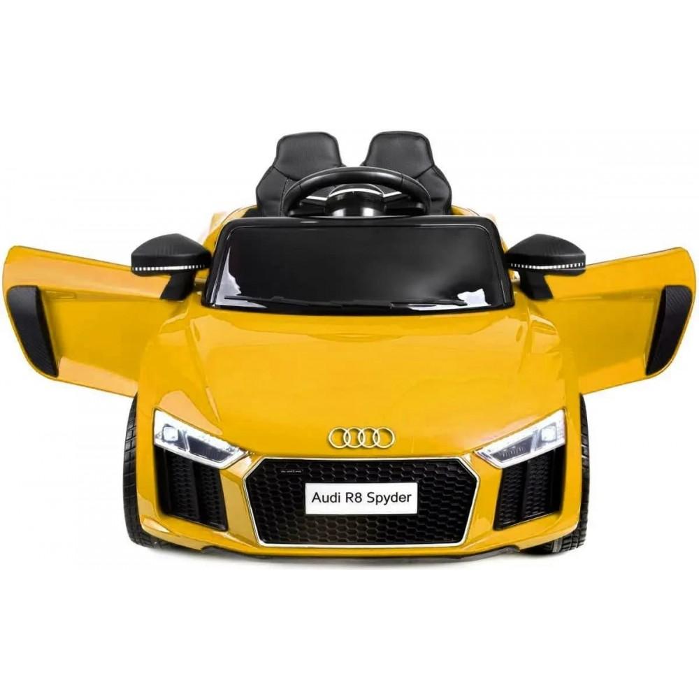Детский электромобиль AUDI HL-1818 желтый