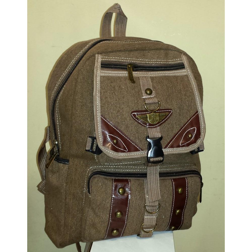 Крепкий удобный рюкзак Spare, коричневый