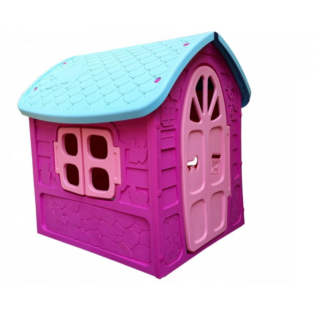Детский пластиковый домик Mochtoys Dorex фиолетовый