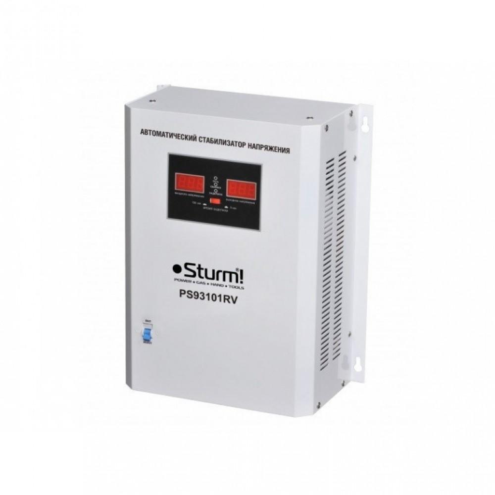 Стабилизатор напряжения релейный Sturm 10000 ВA настенный PS93101RV