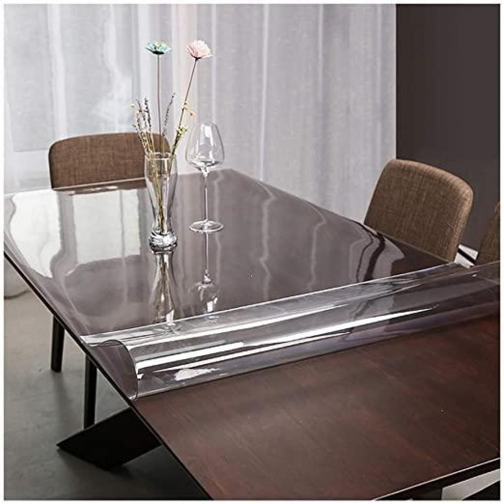 Силиконовая скатерть Soft Glass, 1.5х1.4м, толщина 1.5 мм
