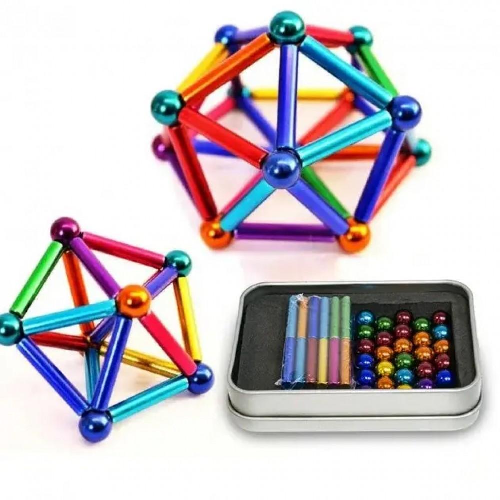Магнитный конструктор Neo Mix Color