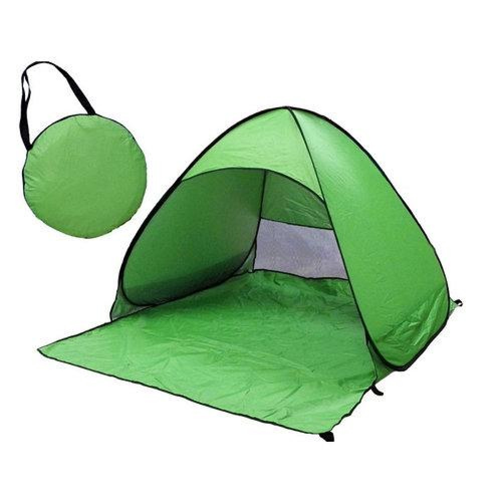 Палатка пляжная салатовая 150х165х110 автоматическая