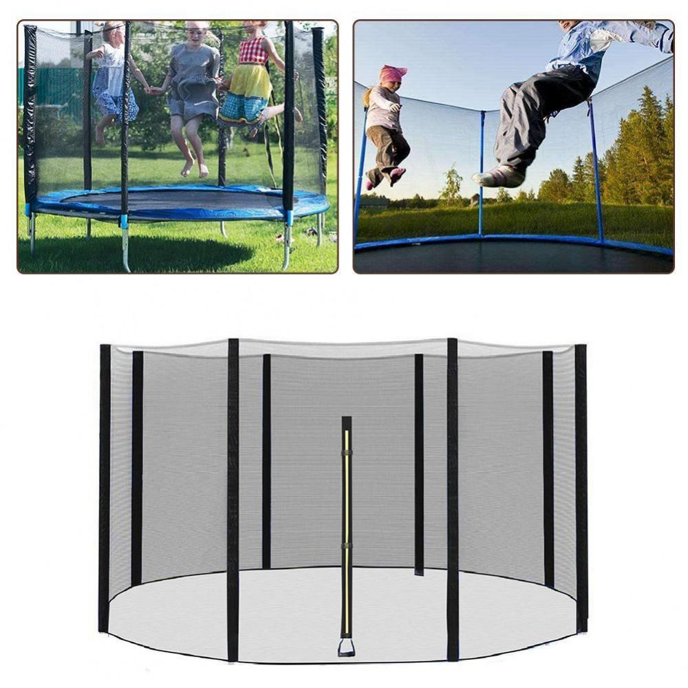 Защитная сетка для батута 183 см внешняя на 6 столбцов, 6 футов, высота 150 см