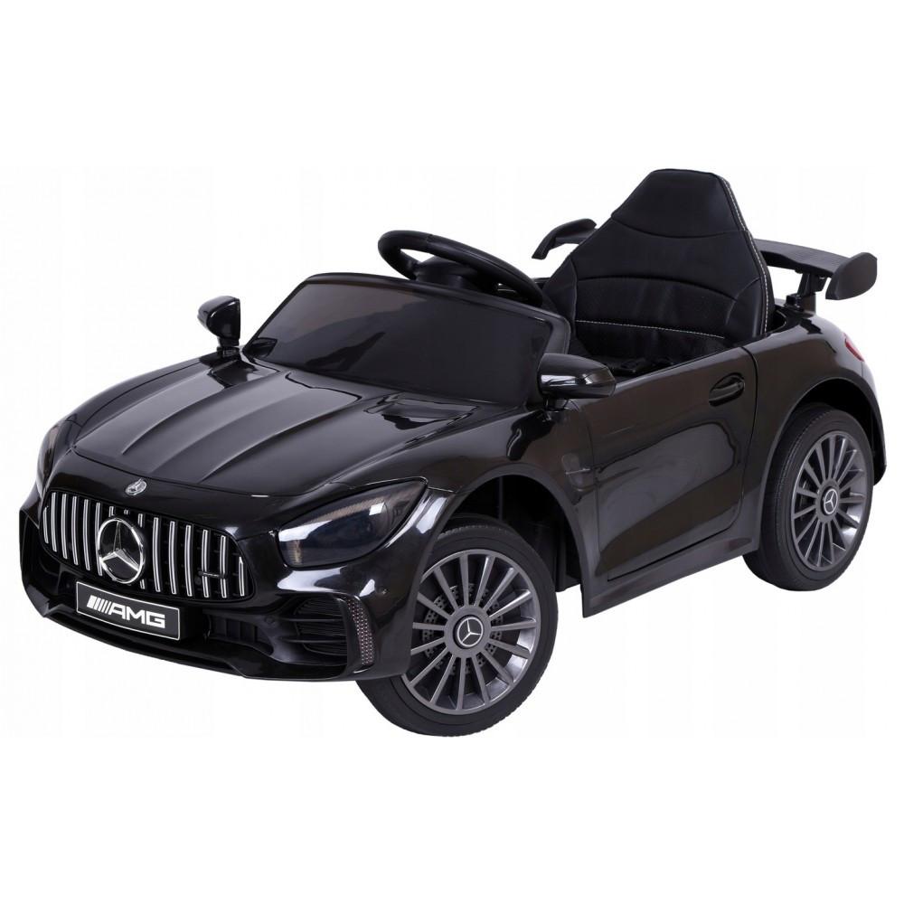 Детский электромобиль Mercedes BBH-011 черный (колеса EVA)