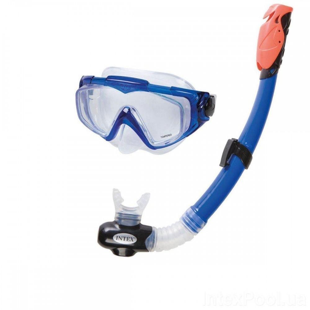Набор для плавания Intex 55962 размер L, синий