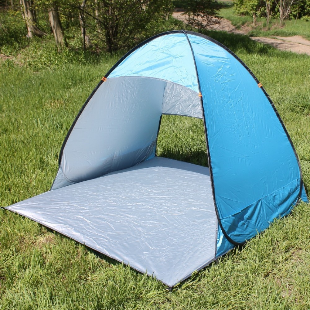 Палатка пляжная 150х165х110 см, синяя