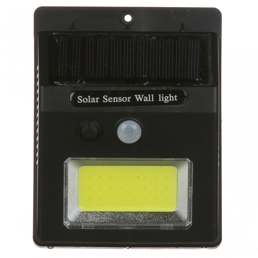 Фонарь с датчиком движения и солнечной Sensor Light батареей, SH 1605