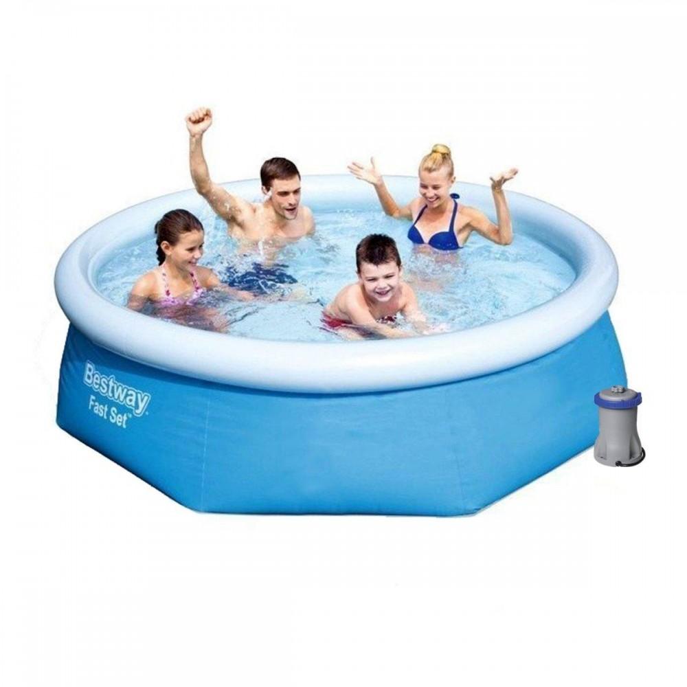 Надувной бассейн Bestway 57268, 244 х 66 см
