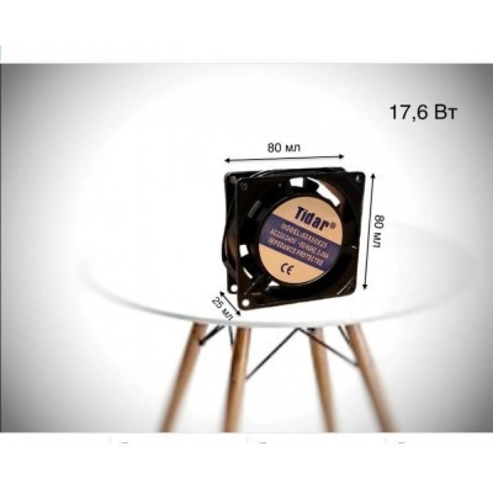 Вентилятор для равномерного распределения температуры и воздухообмена 17,6 Вт