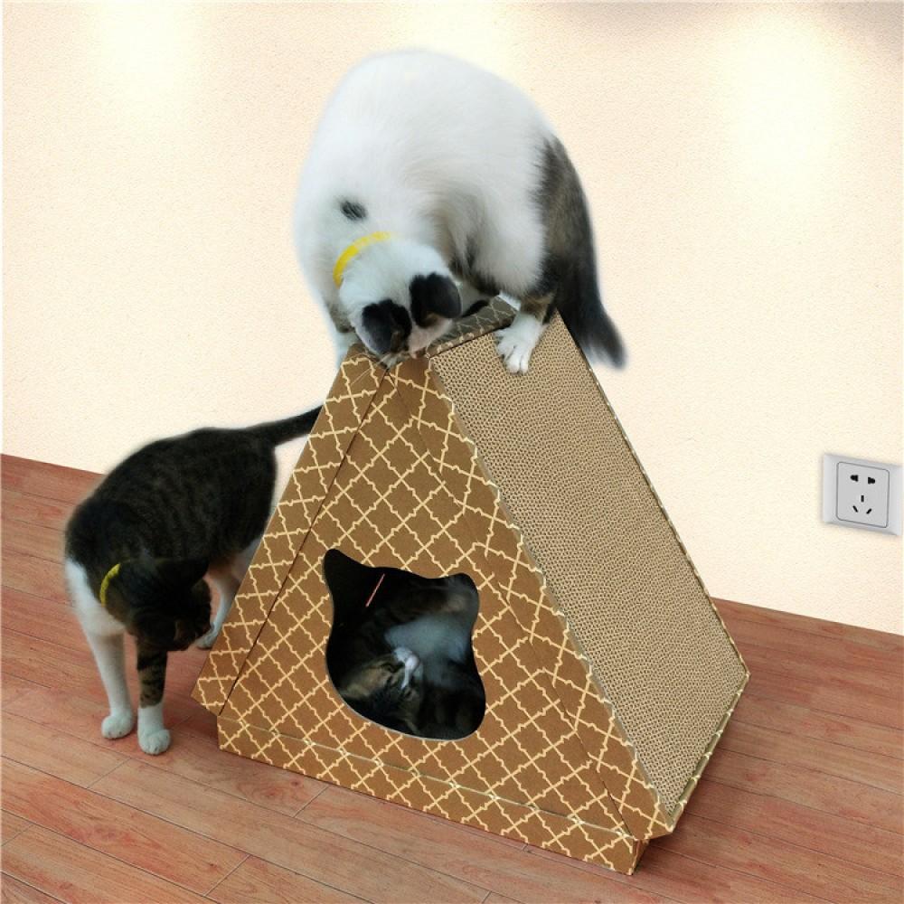 Когтеточка, дряпка - лежанка из картона для кошек Avko ACS022