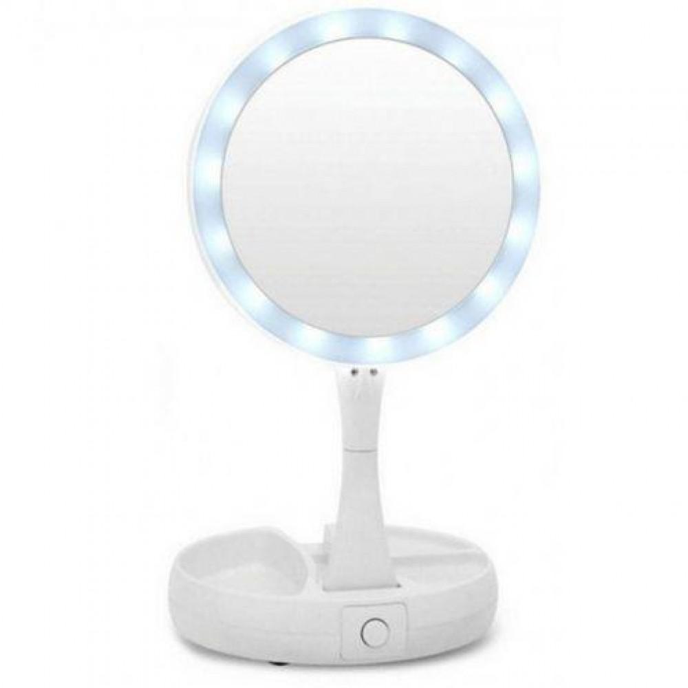 Складное зеркало для макияжа с Led подсветкой My Fold Away Mirror