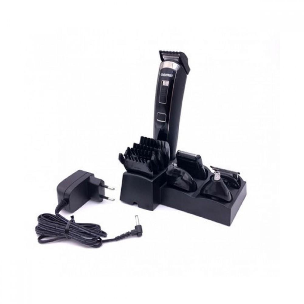 Беспроводная аккумуляторная машинка для стрижки Gemei GM-801 5 в 1