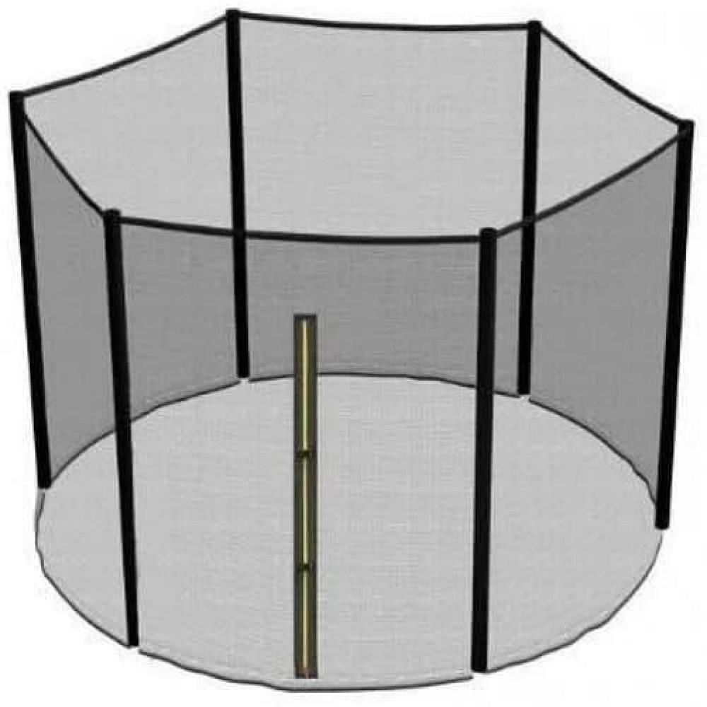 Защитная сетка для батута 252 см, 244 см внешняя на 6 столбцов, 8 футов