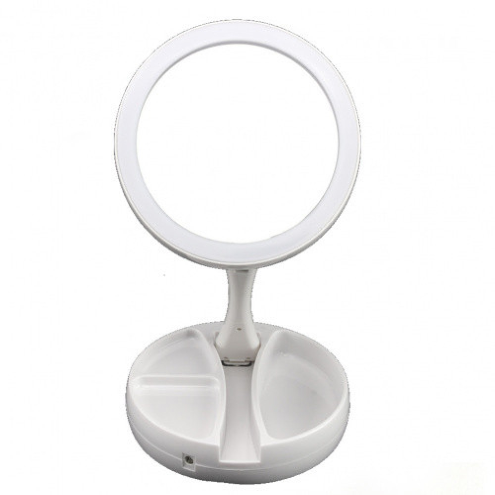 Зеркало для макияжа Fold Away с подсветкой 001 M