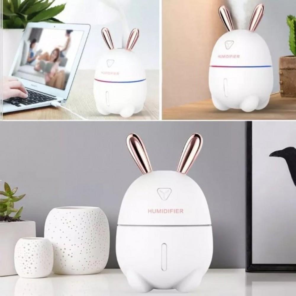 Увлажнитель воздуха с ночником Humidifiers Rabbit, Кролик, работает от USB