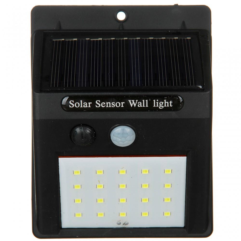 Фонарь с датчиком движения Sensor Light и солнечной батареей, 609-30