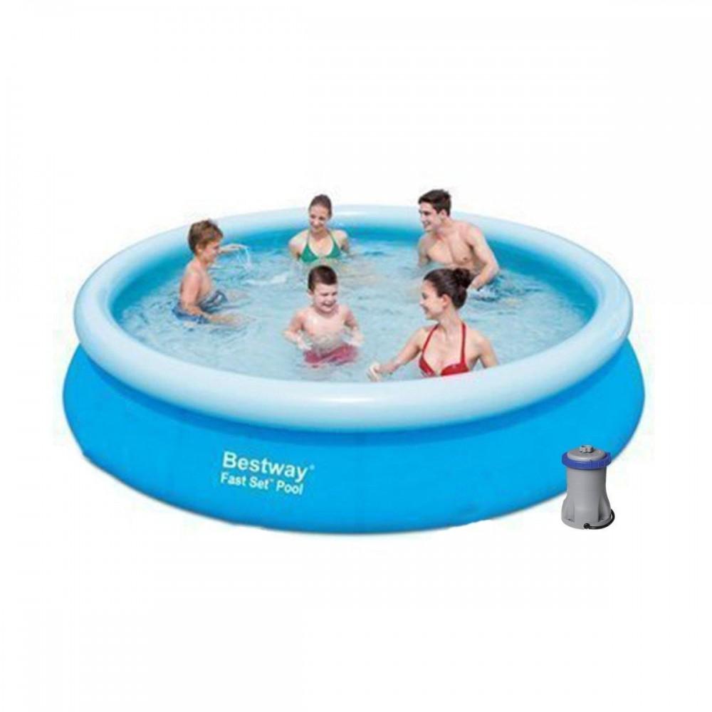 Надувной бассейн Bestway 57274, 366 х 76 см