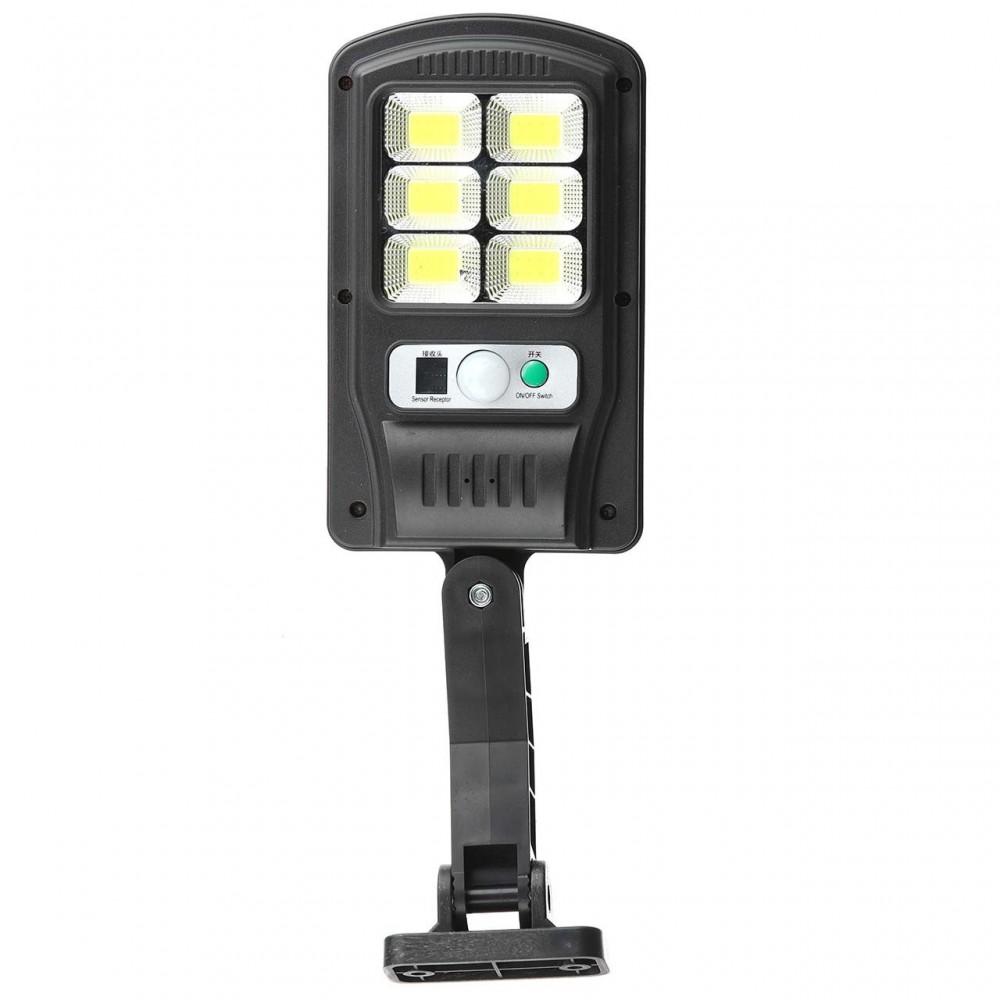 Уличный фонарь с датчиком движением Solar Light BL BK818-6 COB