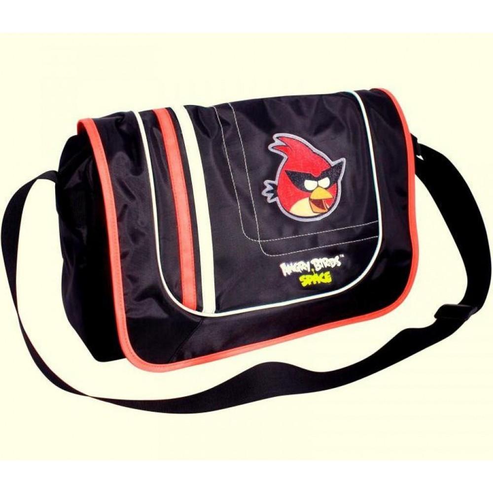 Сумка с рисунком Angry Birds через плечи
