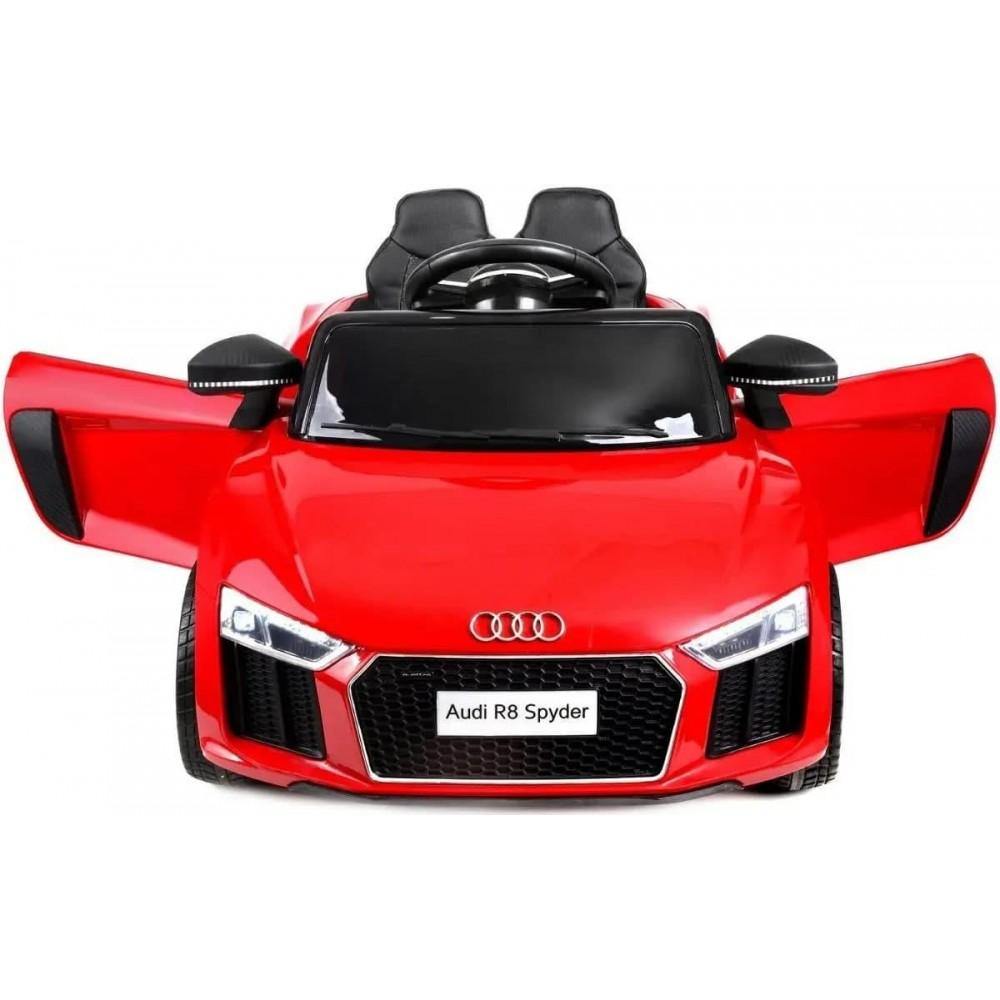 Детский электромобиль AUDI HL-1818 красный