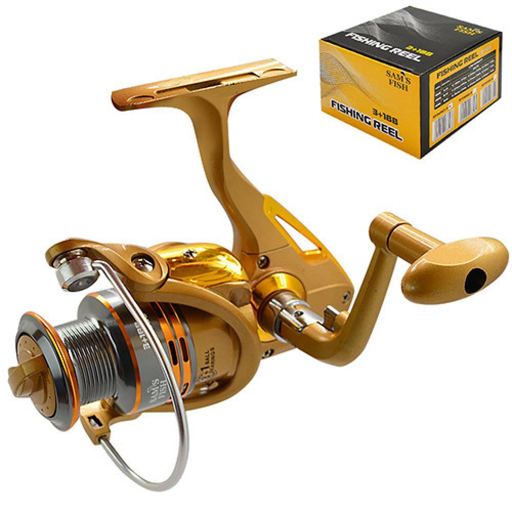 Катушка Sams Fish 4000 3+1ВВ, SF24142-4
