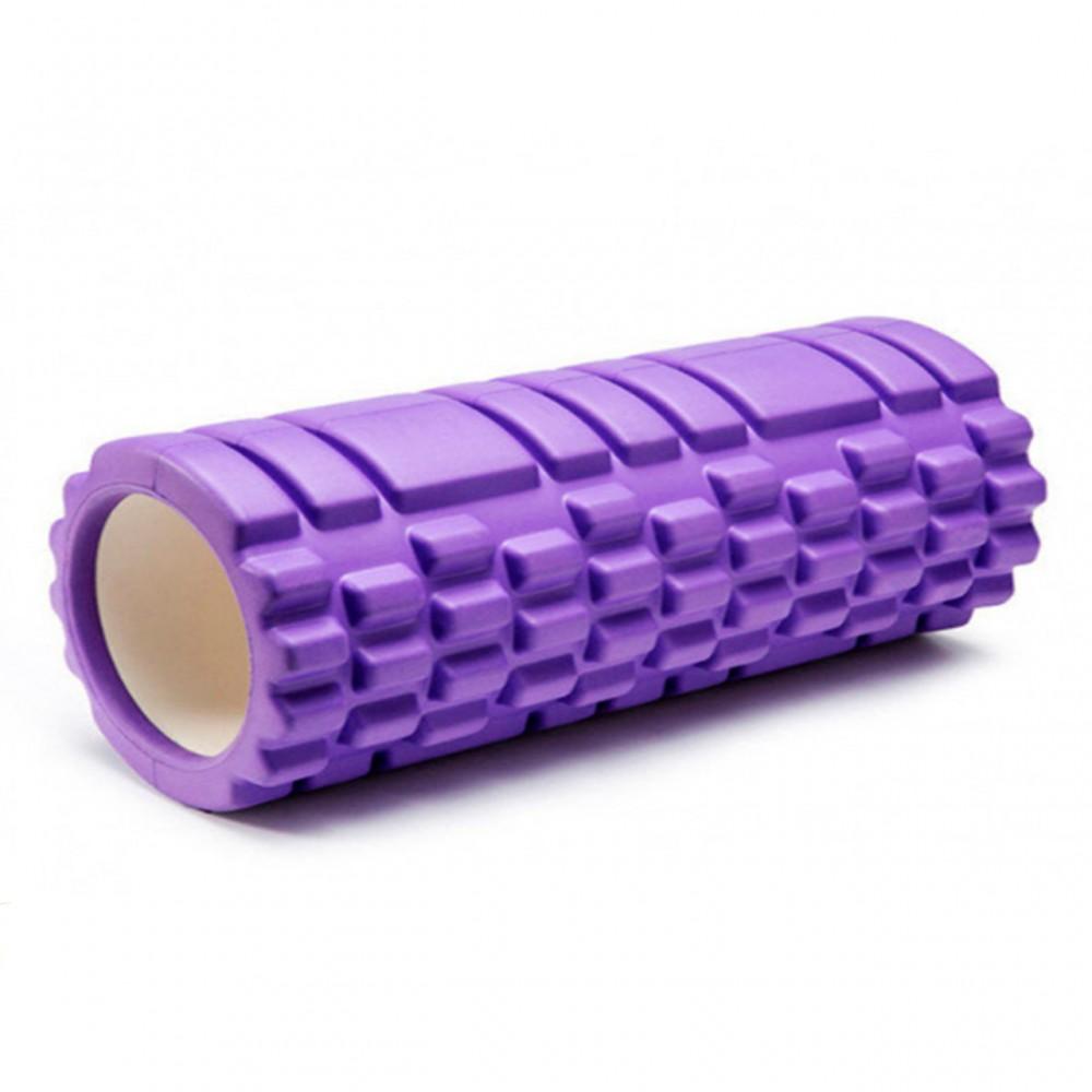 Ролик массажный для йоги Eva 33 х 14 см, 0857