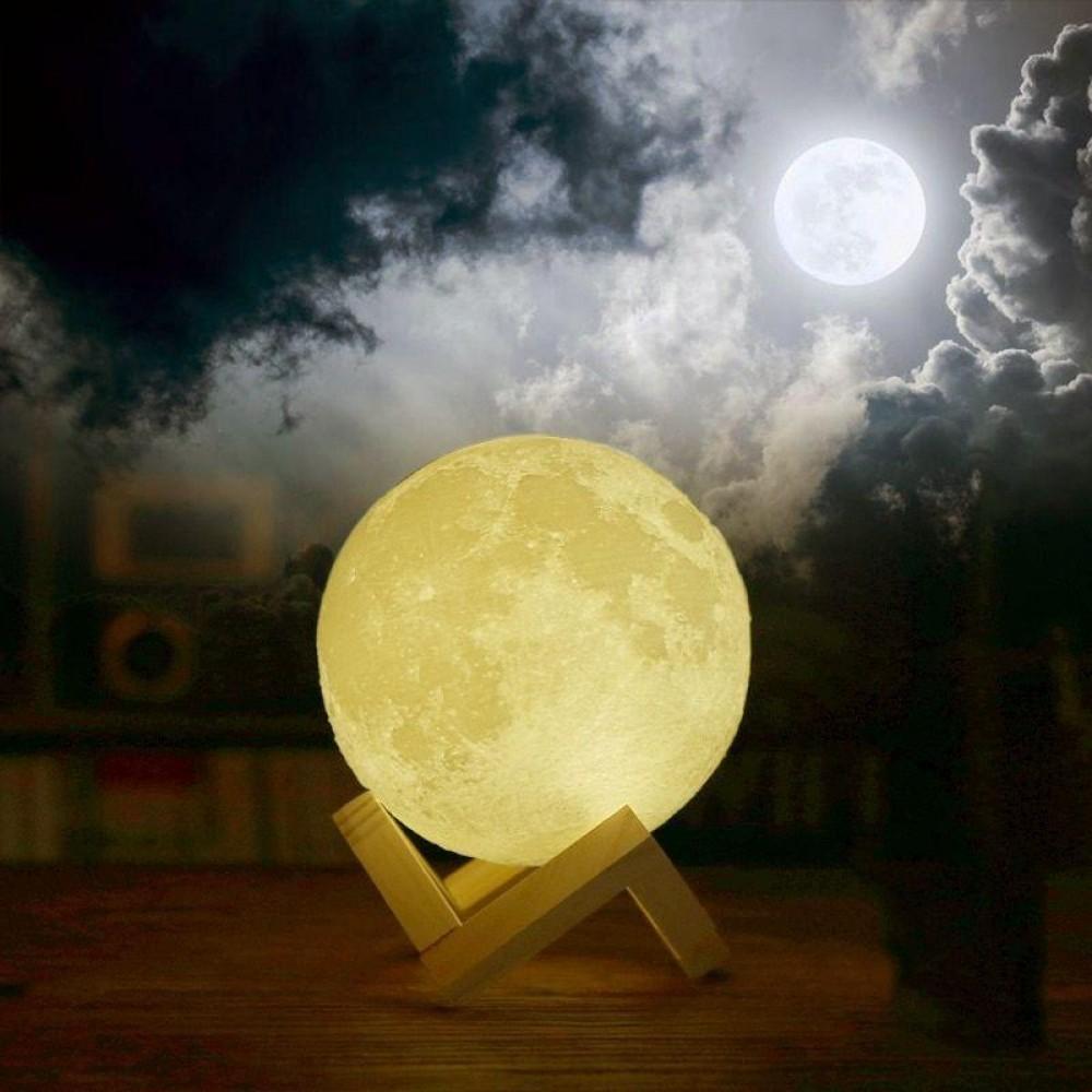 Луна 3D Moon Lamp настольный светильник луна