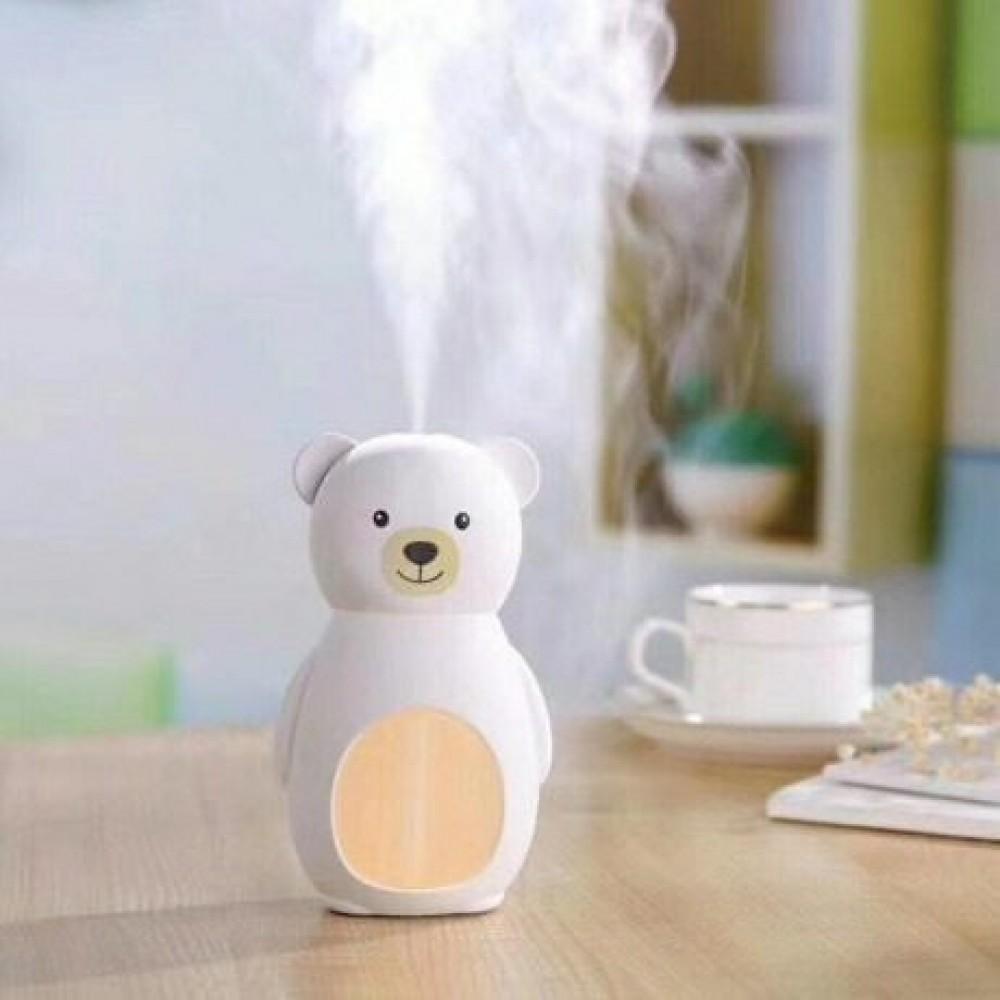 Компактный USB Увлажнитель воздуха Humidifier Bear