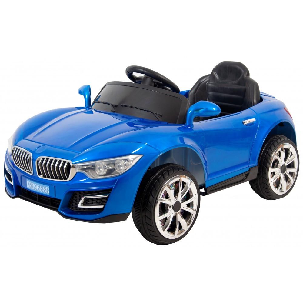 Детский электромобиль Siker Cars 688B синий