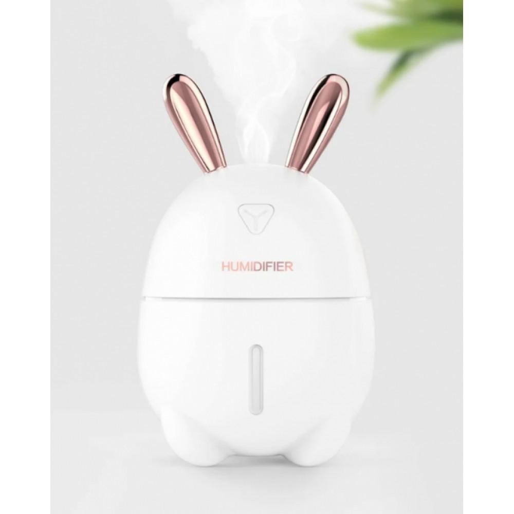 Увлажнитель воздуха и ночник 2в1 Humidifiers Rabbit Диффузор освежитель с подсветкой