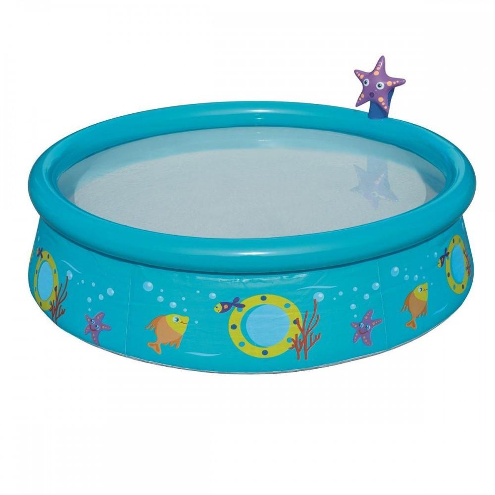 Детский надувной бассейн Bestway 57326, 152 х 38 см, голубой