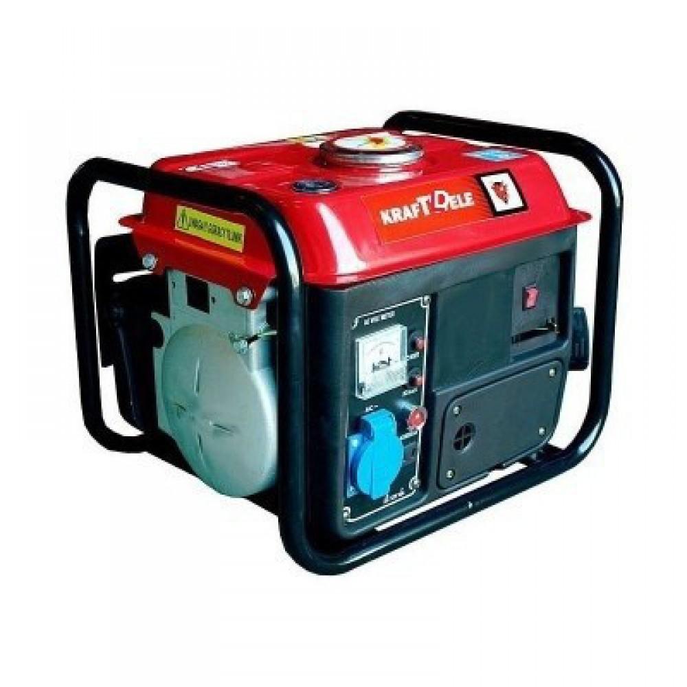 Генератор бензиновый KraftWele 2.2 кВт однофазный, 2-х тактный