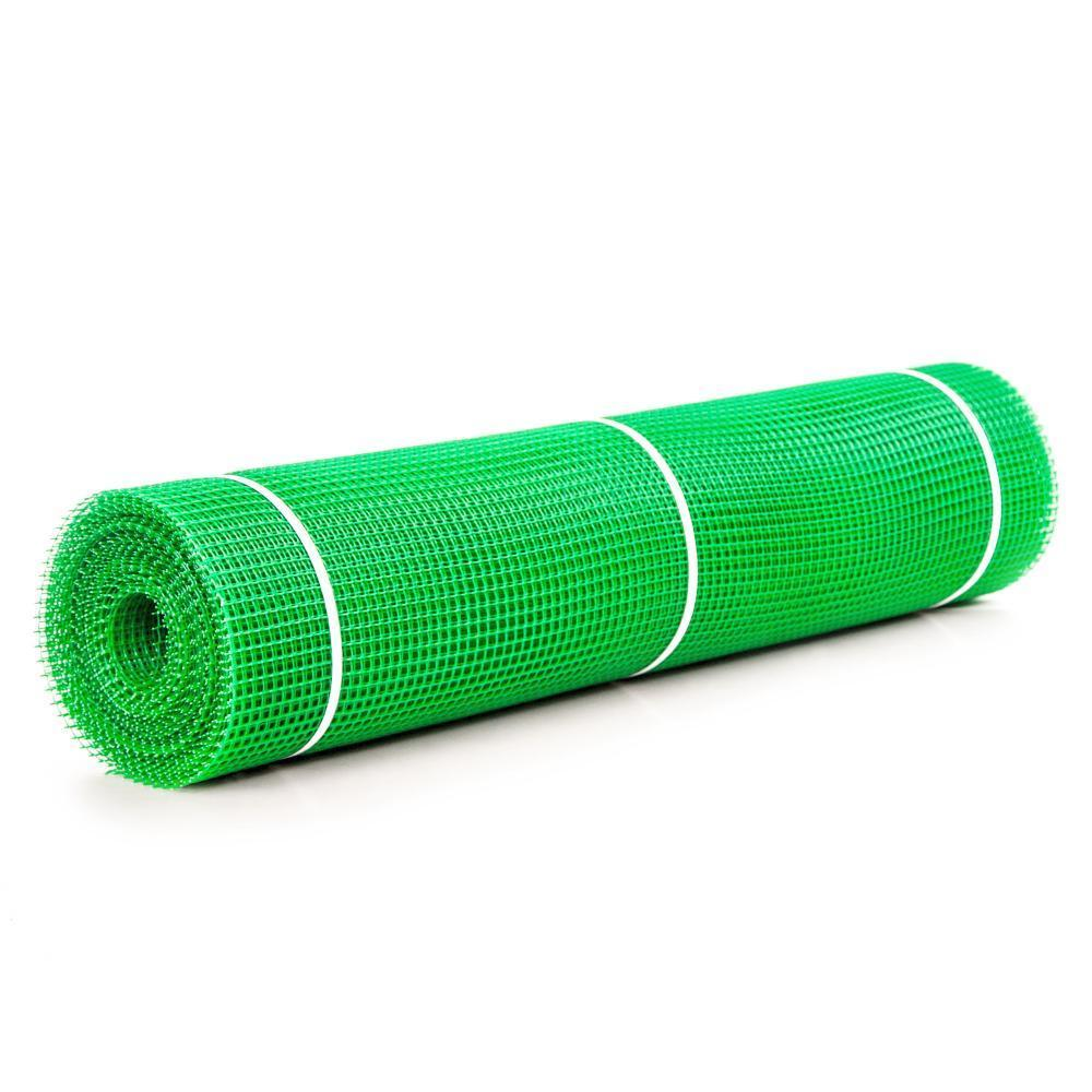 Сетка пластиковая садовая 10x10 мм, рулон 1м x 20м