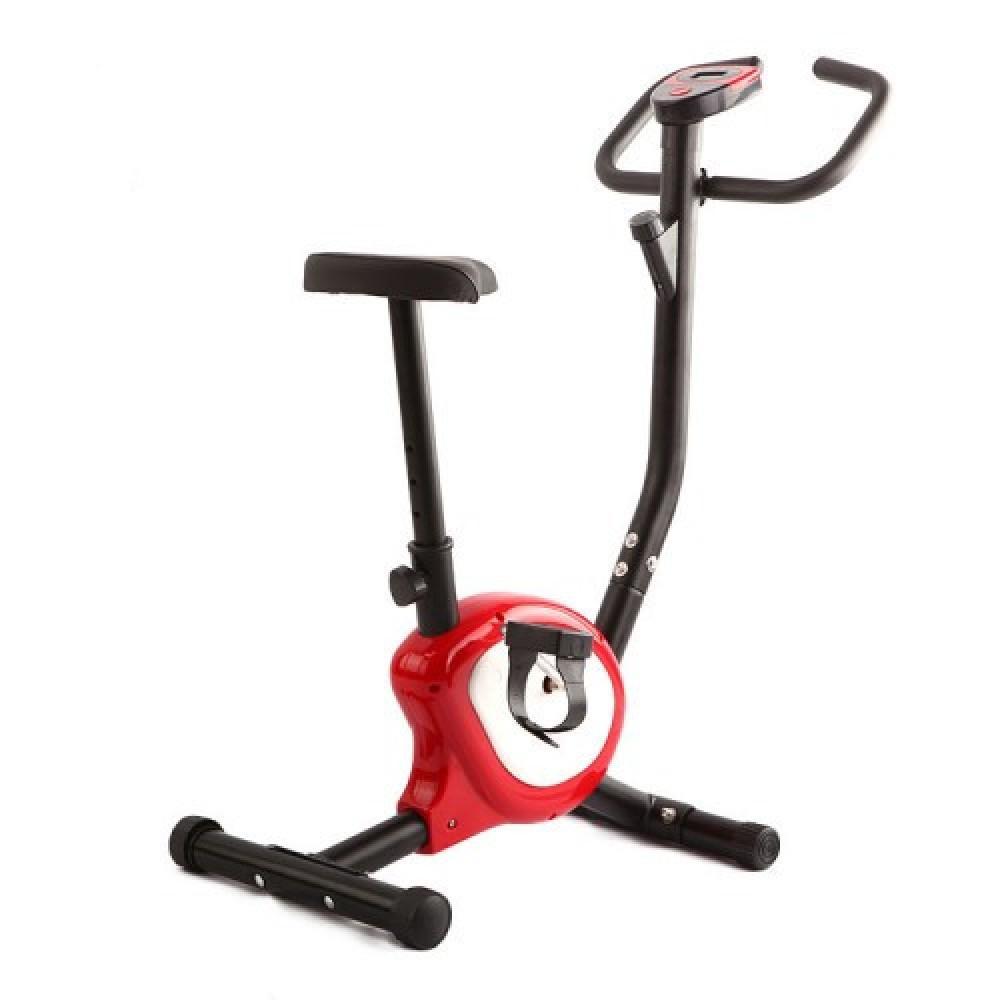 Велотренажер механический Atleto QN-B201 красный