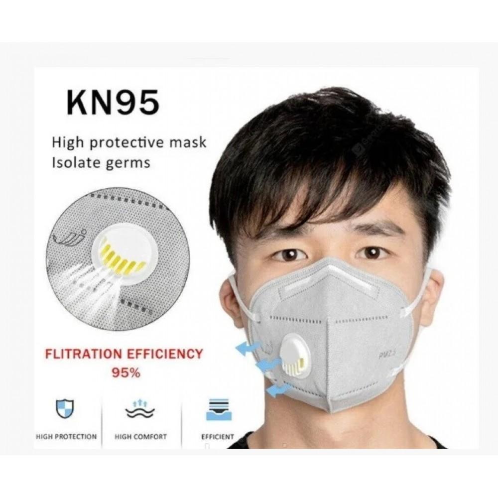 Респиратор Face Mask KN95 FFP2 с угольным фильтром