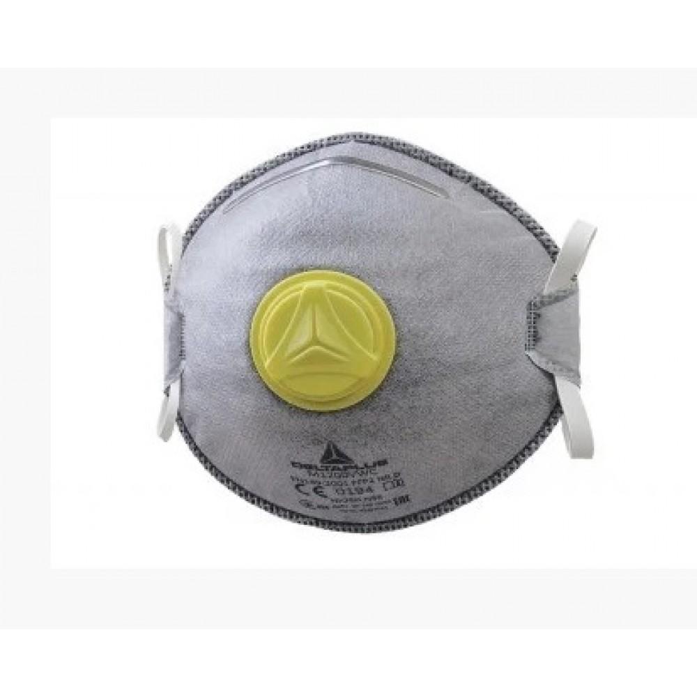Респиратор маска Delta Plus M1200VWC FFP2 угольный фильтр