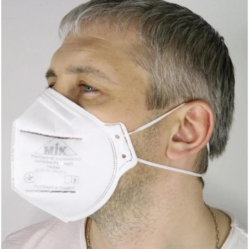 Респиратор маска МИК FFP3 без клапана складной