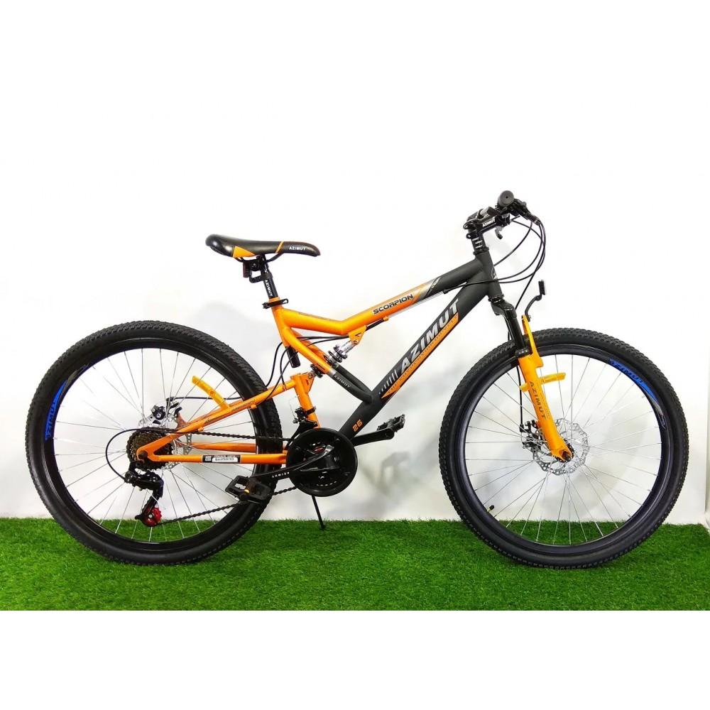 Велосипед Azimut Scorpion 24 D+, рама 17