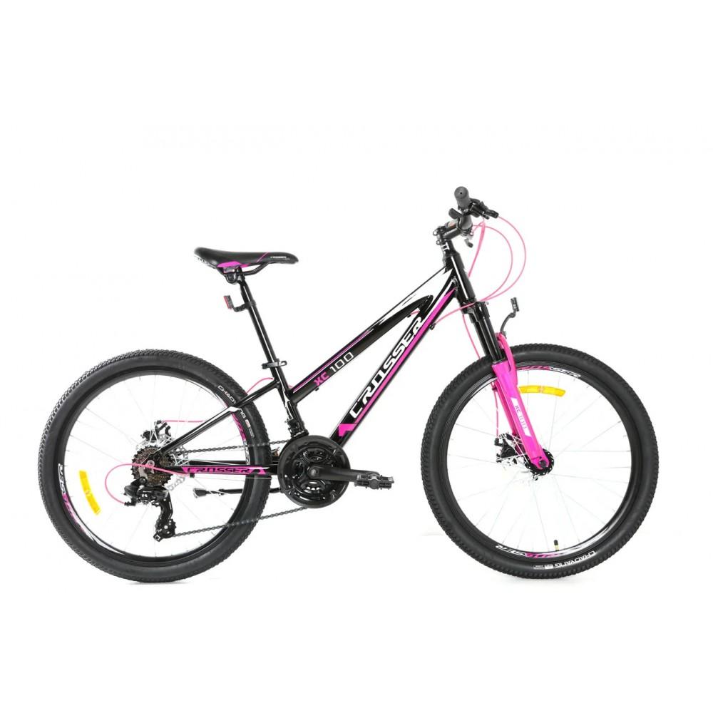 """Велосипед для девочки подростка Crosser Girl 24"""", рама 11,8 из алюминия"""