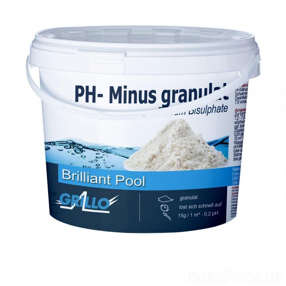 Средство для понижения уровня pH Grillo 80014 Германия 1,5 кг